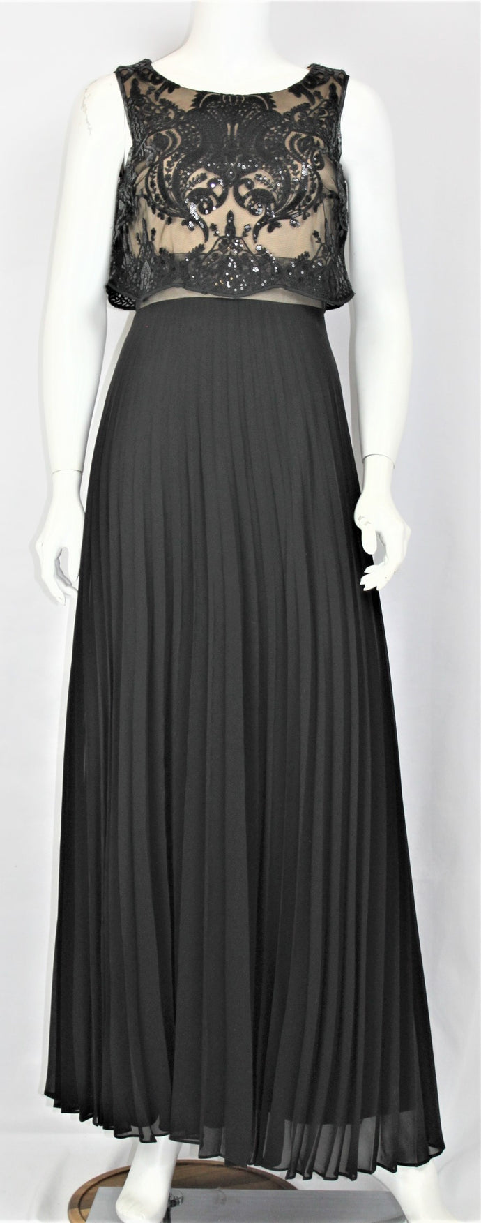 Popover Pleated Gown - Rental