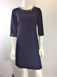 Adrianna Papell Navy Sheath on SALE