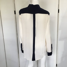 Load image into Gallery viewer, Button Down Silk Blouse - Marienbad - frock-on-penn-llc - Tops