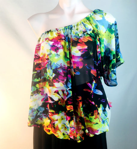 Floral Chiffon Blouson on SALE