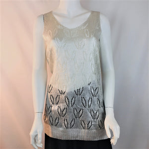 Silver Knit Tunic on SALE