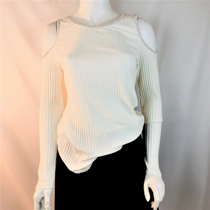 Cold-Shoulder Pullover on SALE