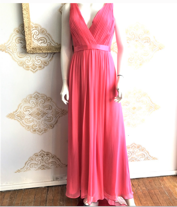 Aidan Mattox Silk Gown on SALE