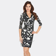 Load image into Gallery viewer, Faux Wrap Dress - Frank Lyman - frock-on-penn-llc - Dresses