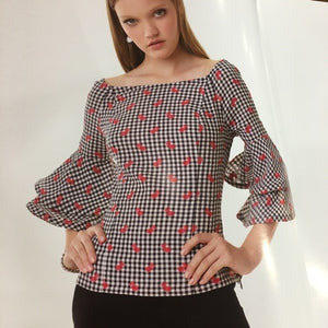 Off-Shoulder Blouse - Alberto Makali - frock-on-penn-llc - Tops