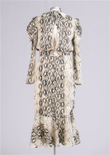Load image into Gallery viewer, Snake Print Dress - Frock Private Label - frock-on-penn-llc - Dress