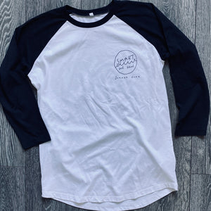 Smart Surf School Unisex Baseball T- Shirt (FREE UK SHIPPING)