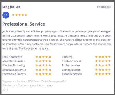 Jac's Client Reviews