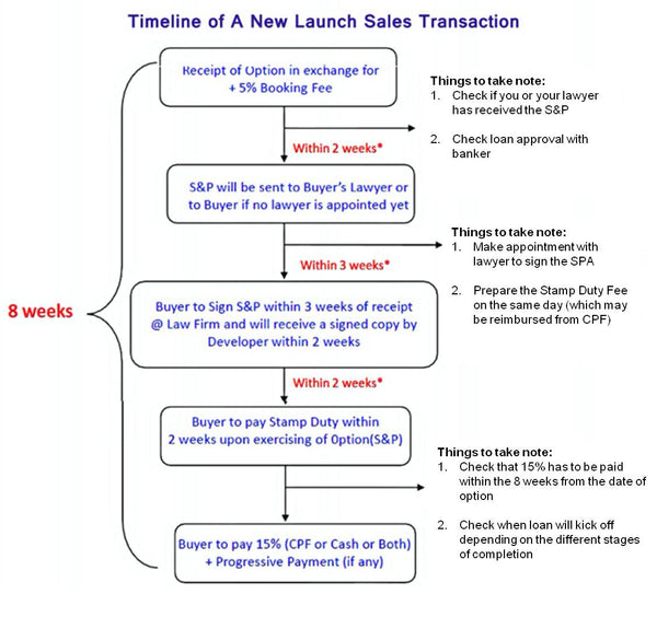 Buying New launch time line