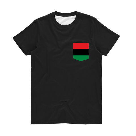 RBG Flag Pocket T-Shirt