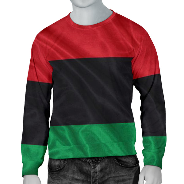 African Flag Men's Sweater