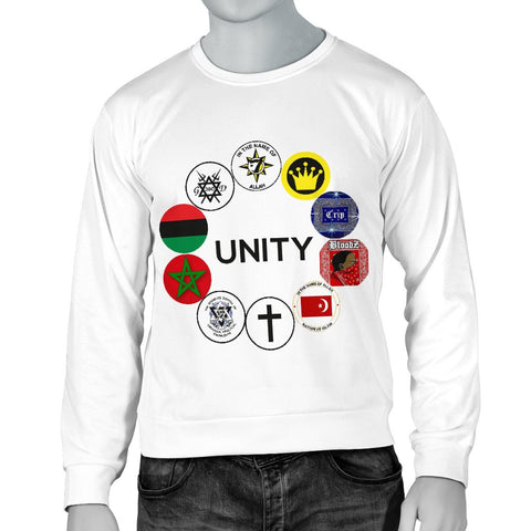 UNITY Patch White Sweater