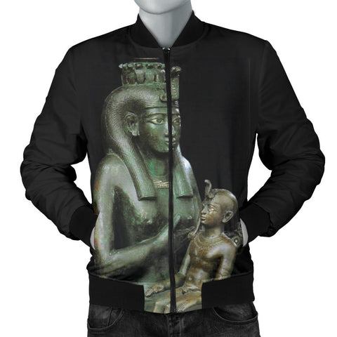 Aset and Heru Black Jacket