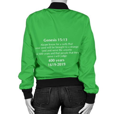 Genesis Jacket for Women Green
