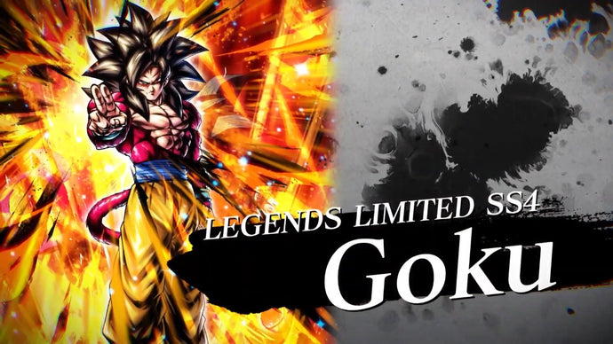 Dragon Ball Legends : Goku Super Saiyan 4 LEGENDS LIMITED annoncé