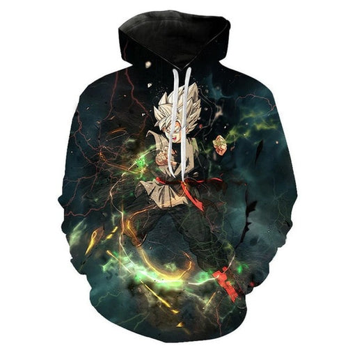 Sweat 3D DBZ Goku Black Super Saiyan combat