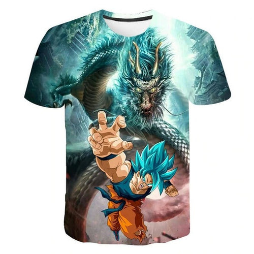 T-shirt 3D Dragon Ball - Jiren