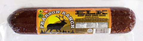 Elk Hickory Smoked Summer Sausage (14 oz.)