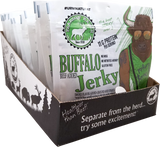 Wholesale Buffalo Jerky Display Tray - 12 each 2.1oz Resealable Bags