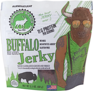 Wholesale Buffalo Jerky - 2.1oz Resealable Bag