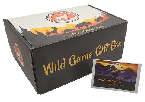 Wild Game Gift Box (Empty - buy a Wrangler or Trail Boss pack to put in it)