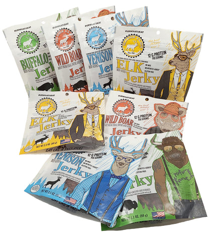 Jerky Bag Variety Bundle - Save 40% (limited time sale)