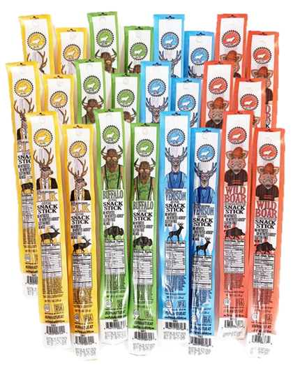 The Snack Attack - Snack Stick Variety Pack (Save 40%)