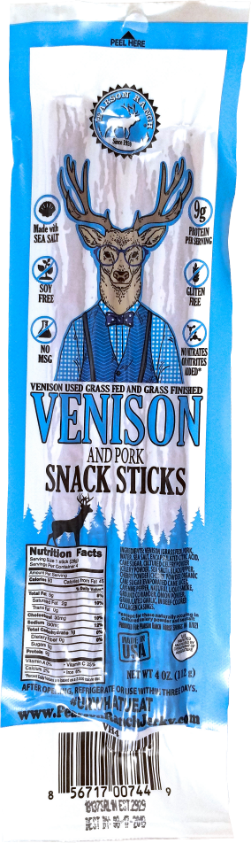Wholesale Venison Hickory Snack Stick Multi-pack