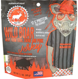 Wholesale Wild Boar Jerky - 2.1oz Resealable Bag