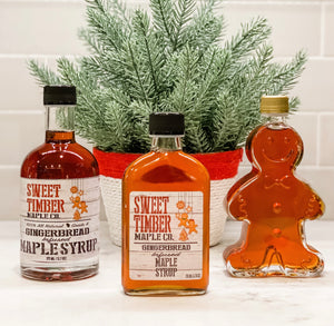 Gingerbread Infused Maple Syrup