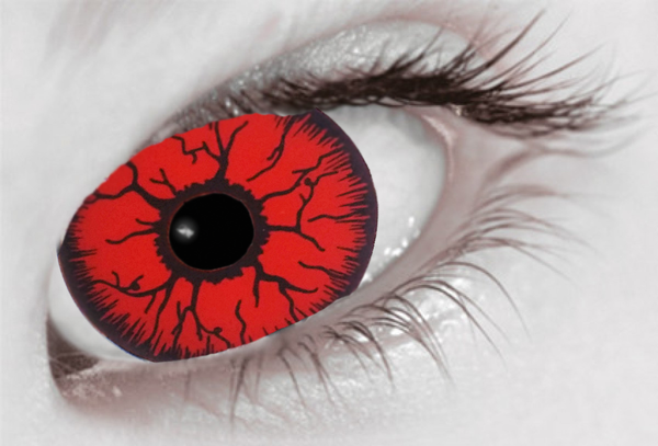 Red Rage Mini Sclera 17mm