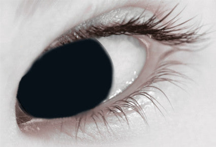 Black Mini Sclera 17mm