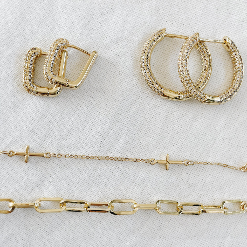 Brooklyn Infinity Gold Chain Bracelet