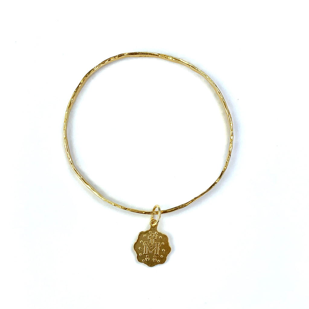 Bangle with Religious Charm