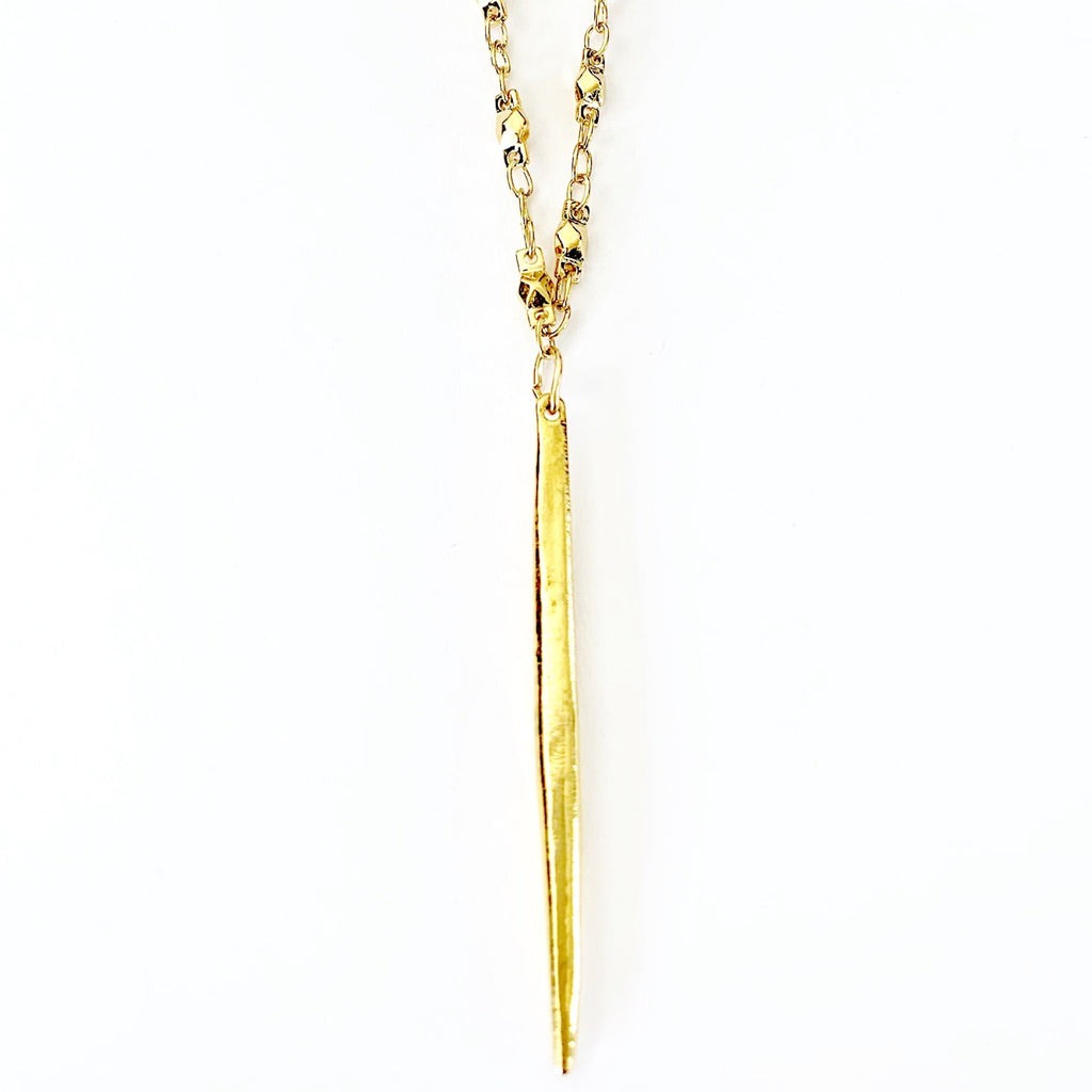Spike Juliana Chain Long Necklace