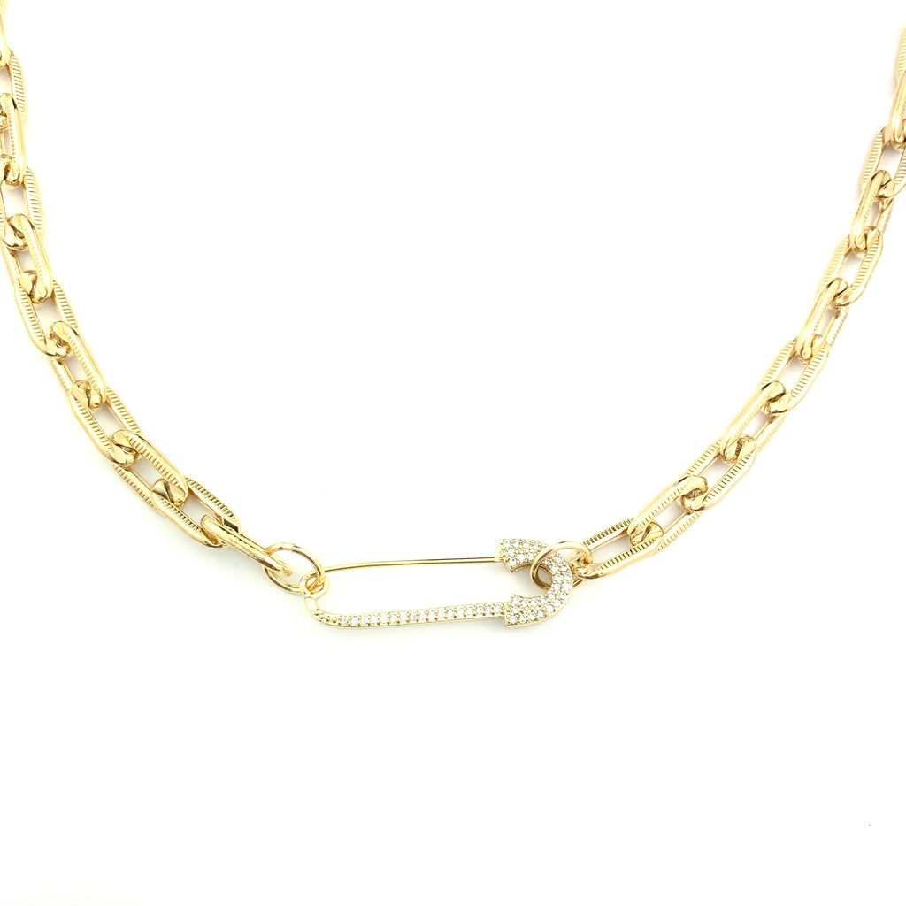 Chandler Gold Chain Necklace