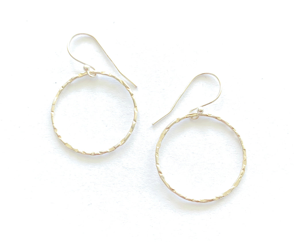 Little sparkle Hoop Earrings