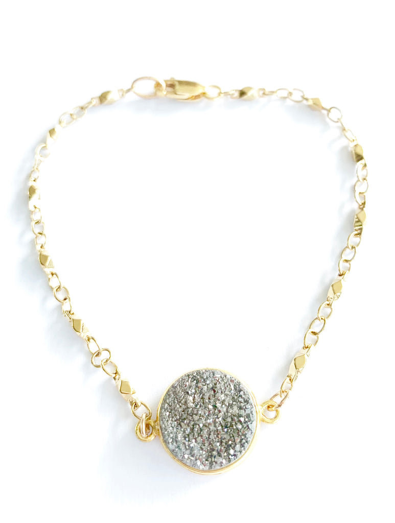 Juliana Chain Druzy Bracelet