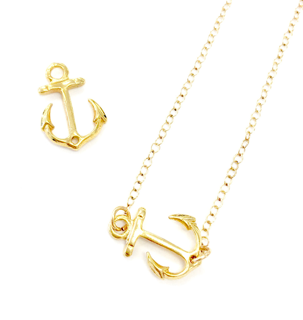 Anchor (side ways) Necklace