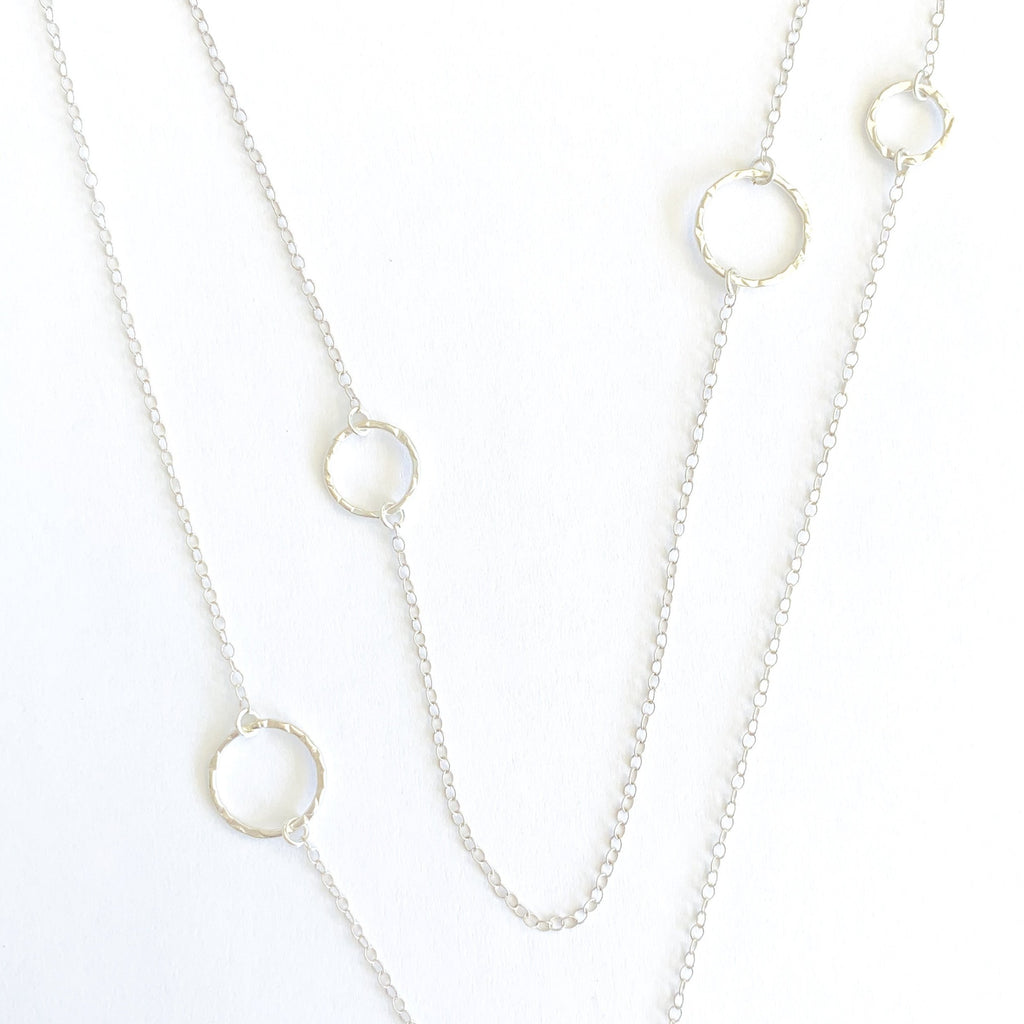 Ally sparkle ring Wrap Necklace