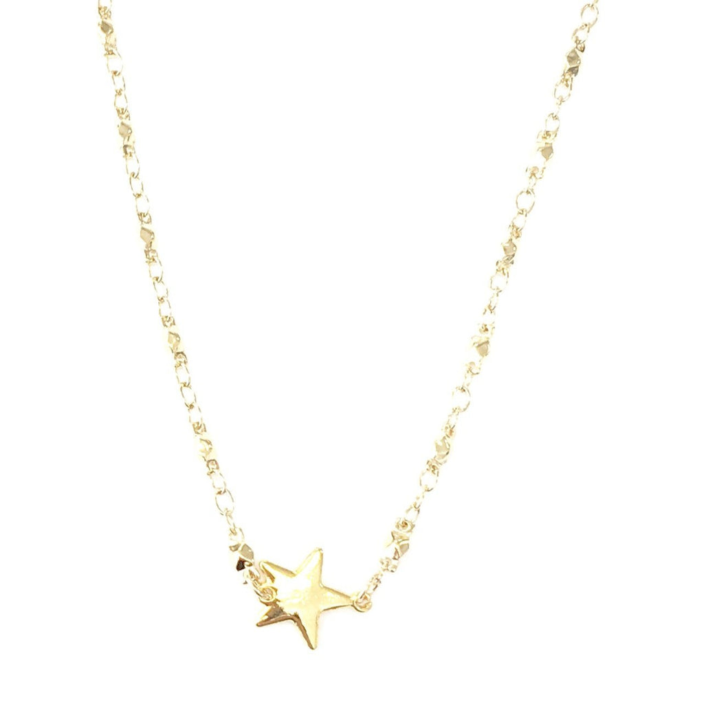 Juliana Chain Star Necklace