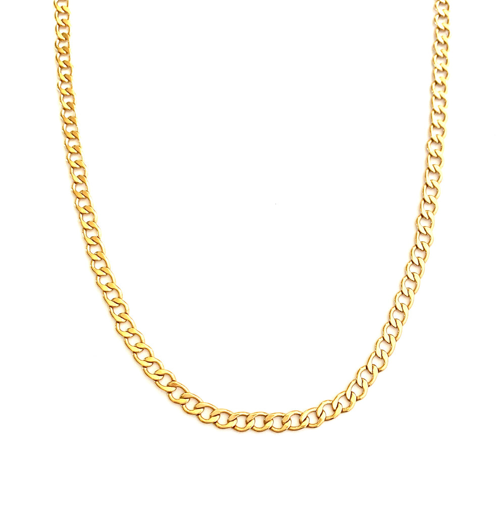 Bella gold Chain Necklace