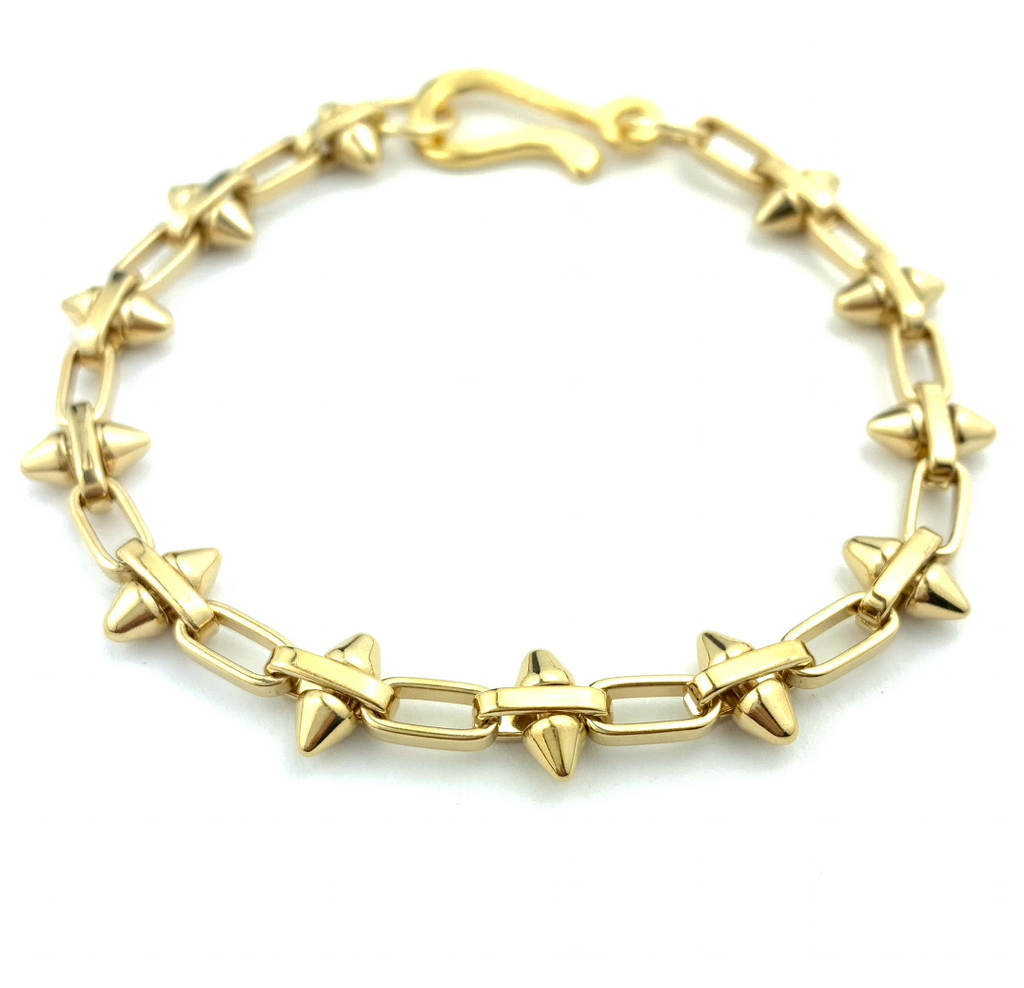 Trendy Spiked Chain Bracelet