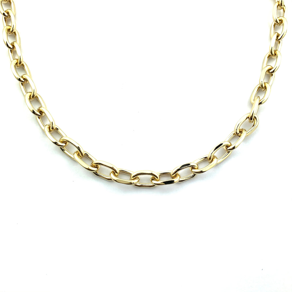 Maxwell Gold Chain Necklace