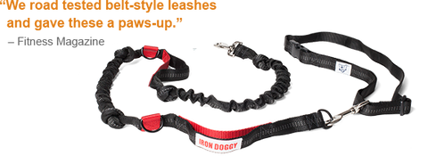 Iron Doggy Hands-Free Dog Leashes