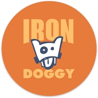 Iron Doggy™ Anywhere Sticker