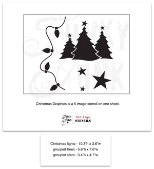 Christmas Graphics (3 Designs) - Fusion Mineral Paint - Where to Buy Online - Dear Olympia - Flate Rate US Shipping