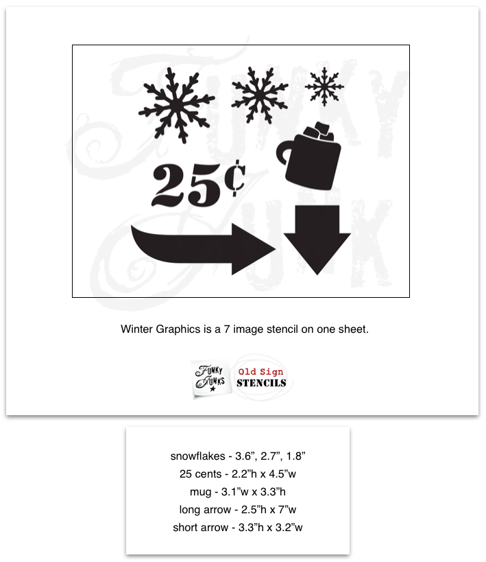 Winter Graphics (3 Designs) - Fusion Mineral Paint - Where to Buy Online - Dear Olympia - Flate Rate US Shipping