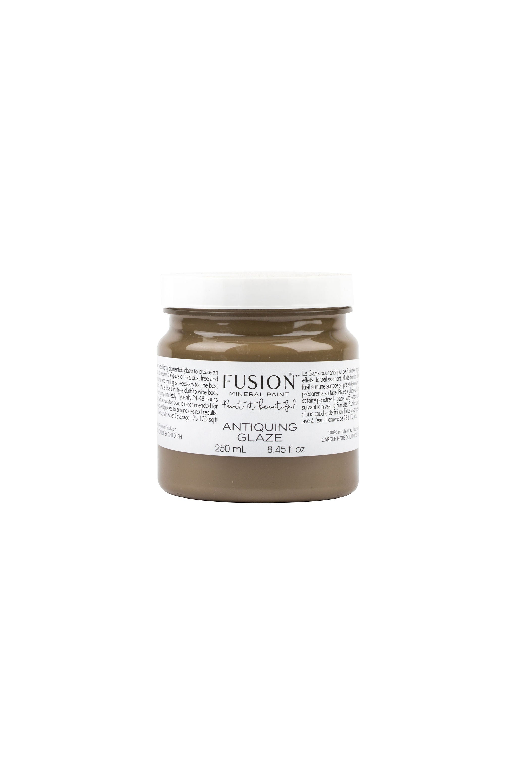 Antiquing Glaze - Fusion Mineral Paint - Where to Buy Online - Dear Olympia - Flate Rate US Shipping