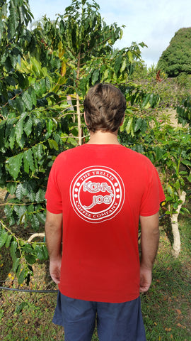Circle Logo Custom Silk Screened T Shirts